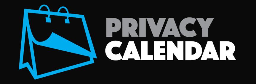 home privacy calendar