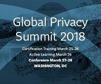 IAPP Global Privacy Summit 2018 @ Washington, DC | Washington | District of Columbia | United States