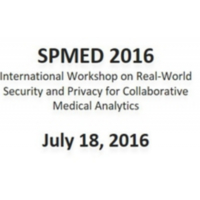 SPMED Workshop - Real-World Security and Privacy for Collaborative Medical Analytic @ Darmstadt   Darmstadt   Hessen   Germany