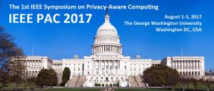 The IEEE Symposium on Privacy-Aware Computing @ Washington, DC   Washington   District of Columbia   United States