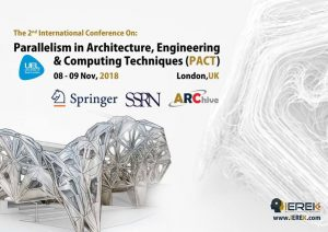 "Parallelism in Architecture,Engineering & Computing Techniques"" -2nd Edition @ London 