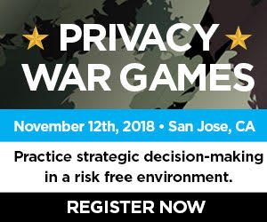 Privacy War Games | November 12 in San Jose @ San Jose