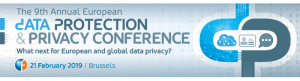 The 9th Annual European Data Protection & Privacy Conference @ Brussels | Bruxelles | Bruxelles | Belgium
