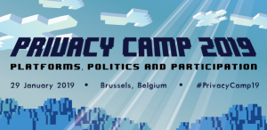 Privacy Camp 2019 @ Brussels | Brussels | Belgium