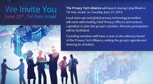 Privacy Tech Alliance - Launch @ Camilo - The Green House | Tel Aviv-Yafo | Tel Aviv District | Israel